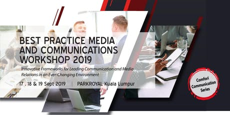 [HRDF claimable*] Best Practice Media And Communication Workshop 2019 tickets
