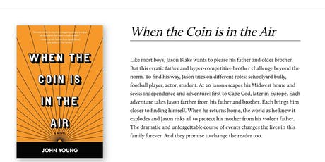 """Book Reading: John Young, Author of """"When the Coin is in the Air"""" tickets"""