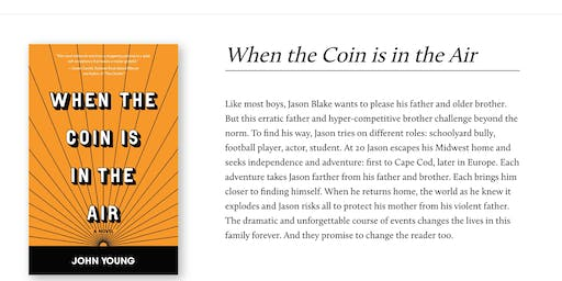 """Book Reading: John Young, Author of """"When the Coin is in the Air"""""""