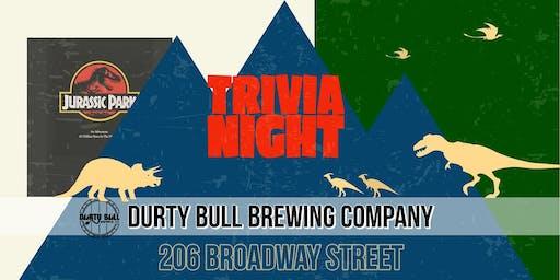Jurassic Park Trivia Night!