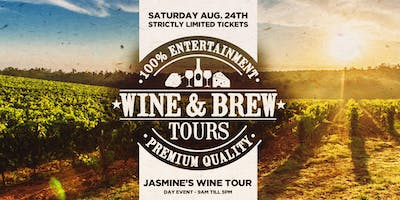 $79 Wine & Brew Public Tour inc Tastings, Cheese Platters & More