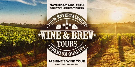 $79 Wine & Brew Public Tour inc Tastings, Cheese Platters & More tickets