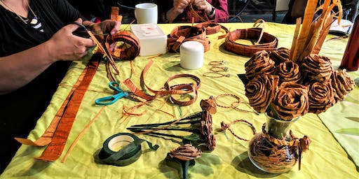 Weaving Arts: Roses and Rope Twists