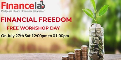 Financial Free Workshop in Auckland New Zealand tickets