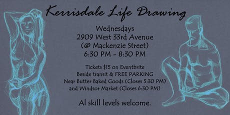 Kerrisdale Life Drawing tickets