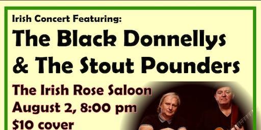 Black Donnellys/Stout Pounders Celtic Concert & Party