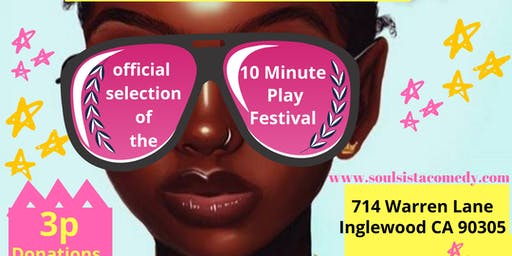 Afro Girl and Beweava at 10 Minute Play Festival
