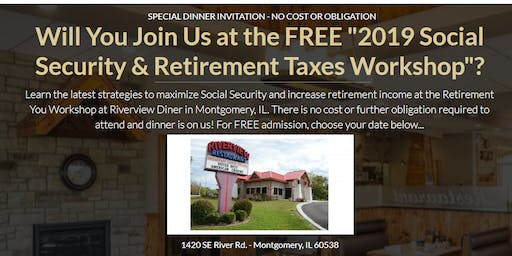 """""""Social Security updates and Retirement workshop"""""""