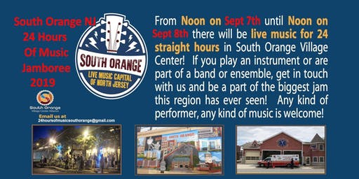 24 Hours Of Music in South Orange New Jersey