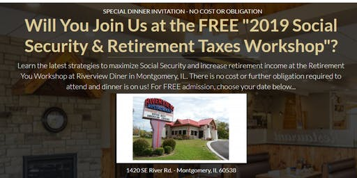 """Copy of """"Social Security updates and Retirement workshop"""""""