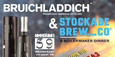 Stockade & Bruichladdich - Octomore 9 Series Release Boilermaker Dinner
