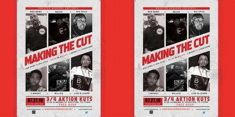 Making The Cut tickets