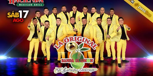 La Original Banda El Limon en Salinas