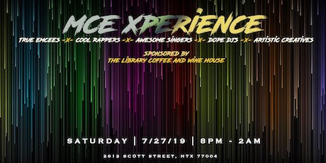 The #MCEXperience at The Library  tickets