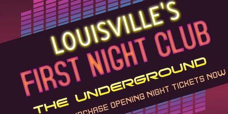 LOUISVILLE'S FIRST NIGHT CLUB tickets