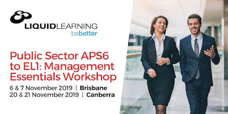 Public Sector APS6 to EL1: Management Essentials Workshop tickets