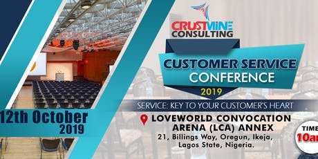 CUSTOMER SERVICE CONFERENCE 2019 tickets