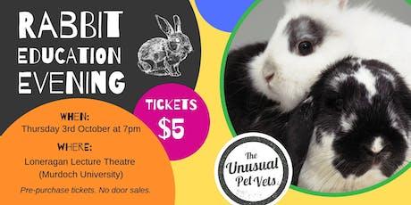 Rabbit Education Night tickets