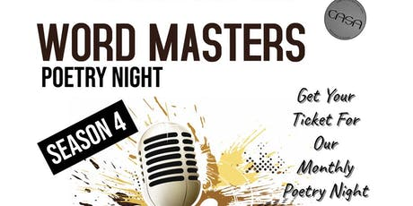 Word Masters Poetry Night tickets