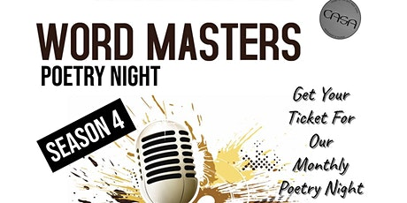 Word Masters Poetry Night at CASA RESTAURANT & LOUNGE tickets