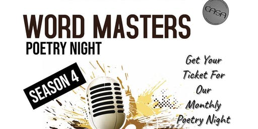 Word Masters Poetry Night
