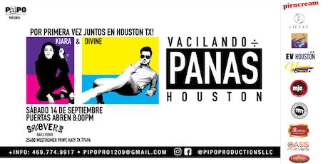 VACILANDO ENTRE PANAS - DIVINE & KIARA - KATY TX tickets