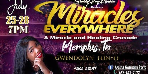 Healing Miracle Crusade in Memphis, Tn