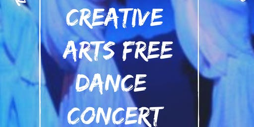 FREE ADMISSION TICKETS FOR  THE CREATIVE ARTS DANCE CONCERT NOVEMBER 7,2020