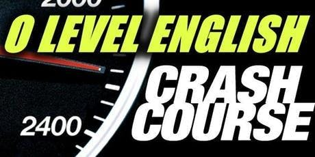 O Level English Crash Course Singapore (10 & 17 August 2019) tickets
