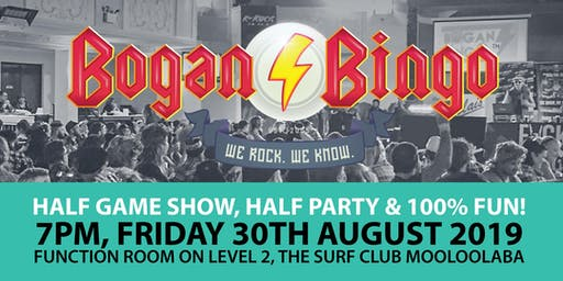 Bogan Bingo at The Surf Club Mooloolaba