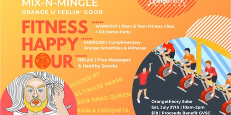 Mix-N-Mingle Orange U Feelin' Good Fitness Happy Hour tickets