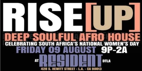 RISE [UP] Celebrating South Africa's National Women's Day tickets