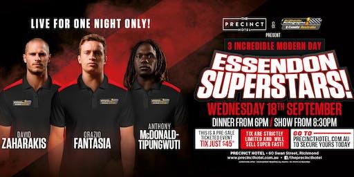 Zaharakas, Fantasia & McDonald-Tipungwuti LIVE at Precent Hotel!