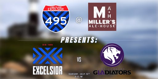 Long Island Excelsior Presents: NYXL vs LA Gladiators