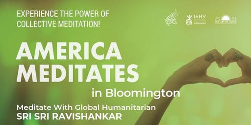 America Meditates - Bloomington IL