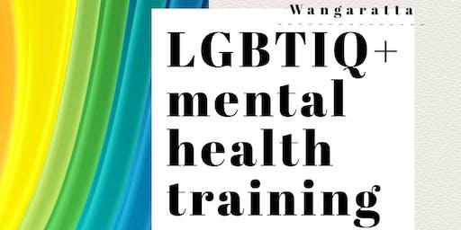 LGBTIQ+ Mental Health training - Wangaratta