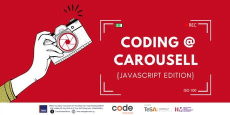 Coding @ Carousell (JavaScript Edition) tickets