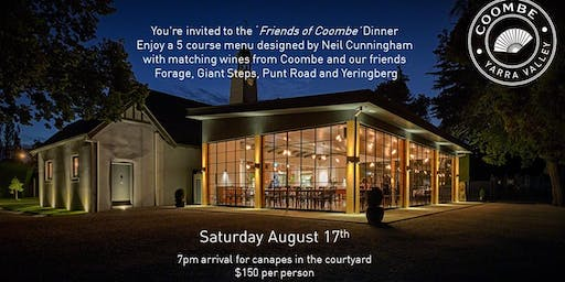 'Friends Of Coombe' Dinner