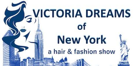 Victoria Dreams of New York tickets