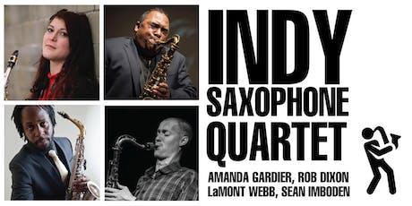 Indy Saxophone Quartet   A Gardier, R Dixon, L Webb, S Imboden tickets
