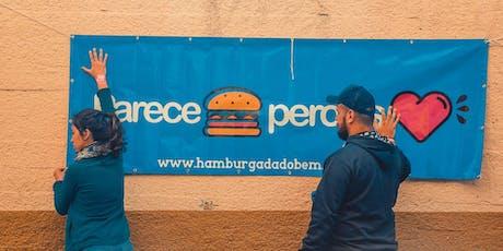 Hamburgada do Bem  - Mercosul (Para voluntários Brasileiros) entradas