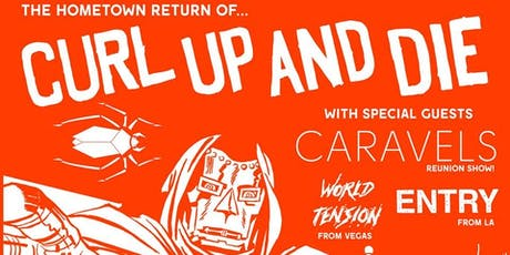 Curl Up And Die Hometown Reunion Show tickets