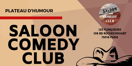 Saloon Comedy Club tickets
