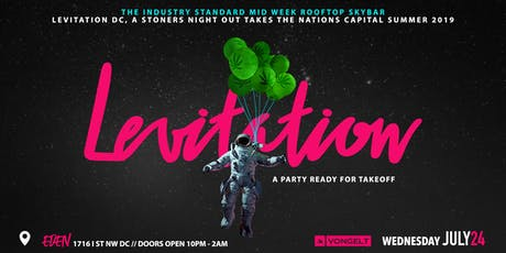 Levitation DC - Raw Papers Rooftop Party tickets