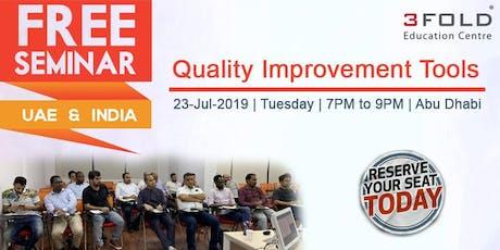 FREE Seminar: Quality Improvement Tools tickets