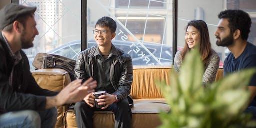 Socialhaus Pop-up: Talk to a stranger, make a friend