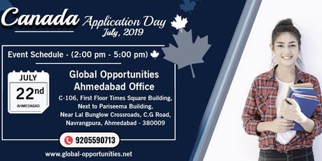Canada Application Day - Ahmedabad tickets