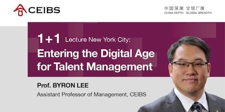 CEIBS 1+1 Lecture New York City tickets