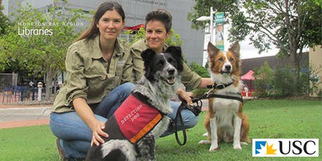 Detection Dogs for Conservation - North Lakes Library tickets
