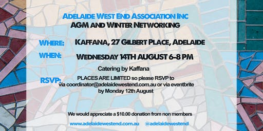 AWEA Annual General Meeting and Winter Networking 2019